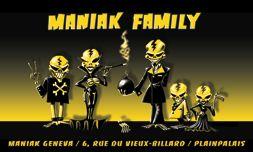 Maniak Black Market Geneva